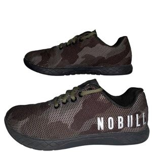 Nobull Project Camouflage Sneakers Men's Size 5.5